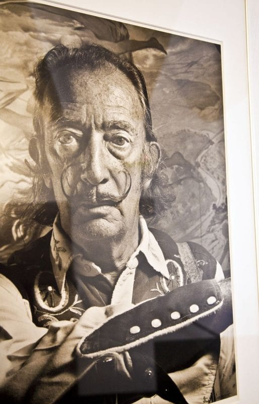 Retrato de Dalí