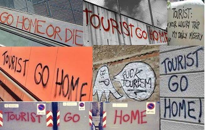 Amenazas contra turistas en distintas ciudades