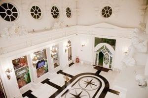 Interior del casino de Santander