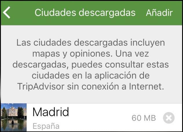 La APP permite descargar información de miles de ciudades