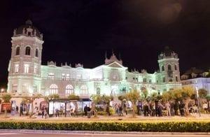 El casino de Santander se construyó en un solo año