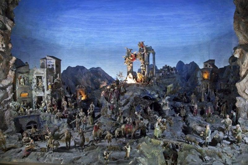 Natividad del convento de Santa Clara en Nápoles