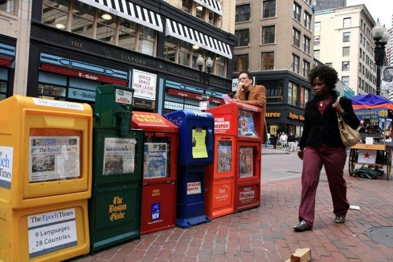 Dowtown Crossing es el centro comercial por excelencia de Boston