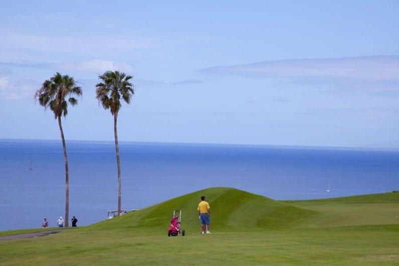 El campo de golf Costa Adeje es uno de los mejores de Tenerife