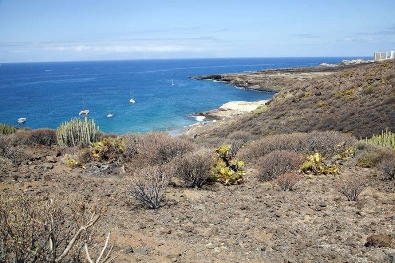 La costa de Adeje es una de las más hermosas de Tenerife