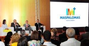 El nuevo logo de Maspalomas se presentó oficialmente en pasado septiembre