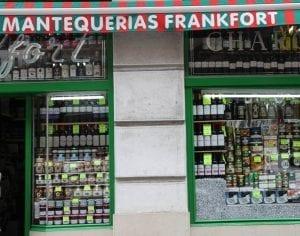 La mantequería Frankfort, antigua tienda de ultramarinos en Rualasa
