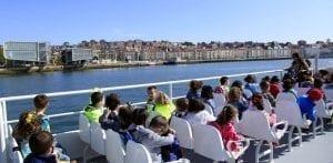 Panorámica de Santander desde el mar