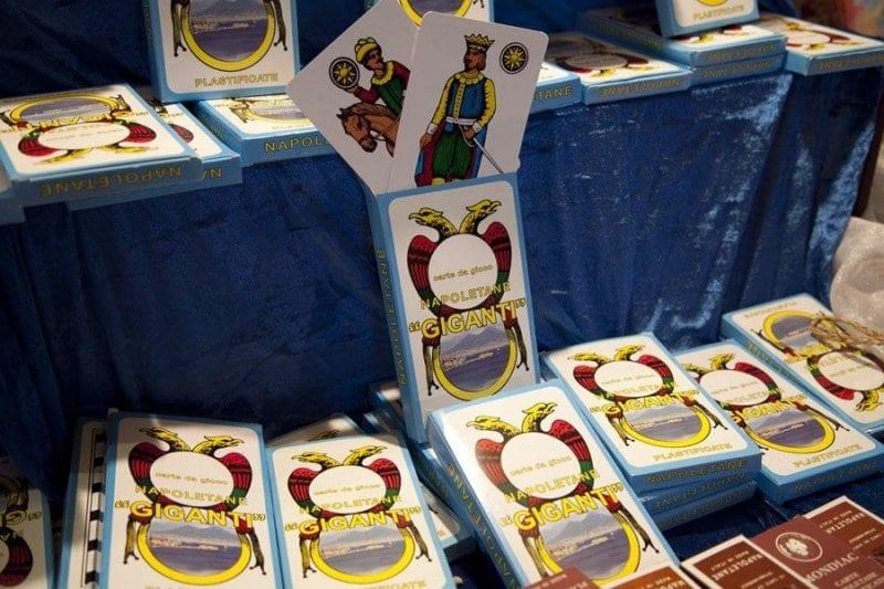 Cartas del tarot napolitano