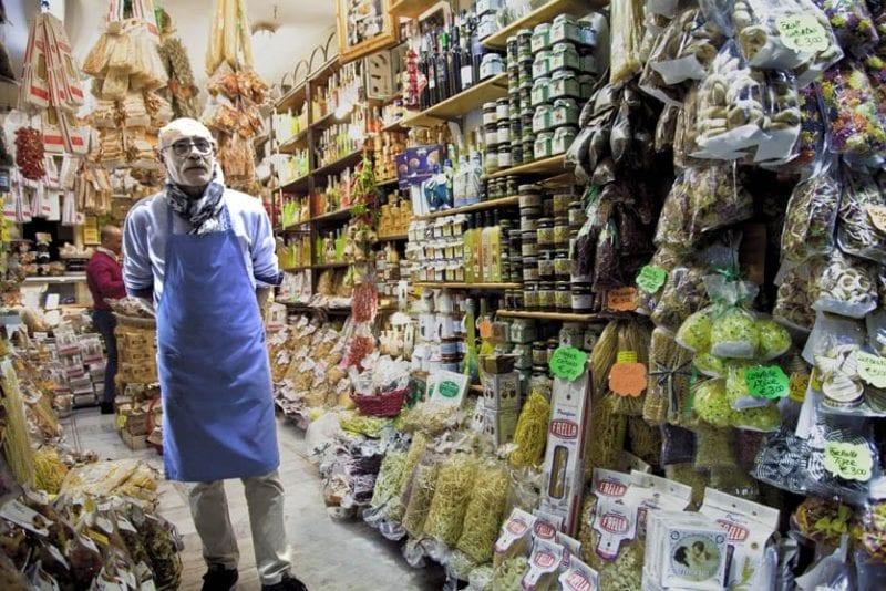 Tienda de pasta y especialidades italianas
