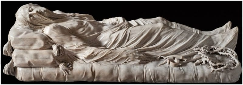 Escultura del Cristo Velado