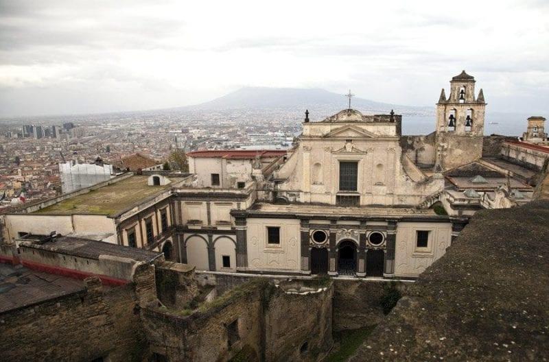 Vista de la Cartuja de San Martino