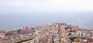 Panorámica de la bahía de Nápoles