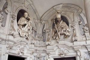Ejemplos de esculturas en la cartuja