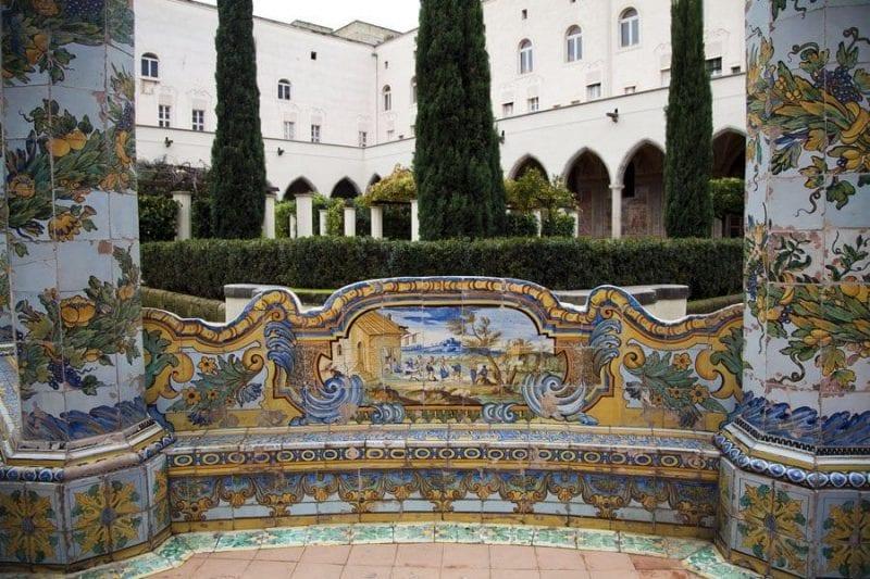 Los azulejos eran una ventana al mundo para las religiosas