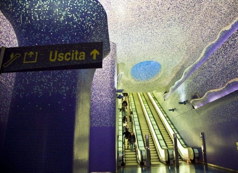 Imagen de la premiada estación de Toledo en Nápoles