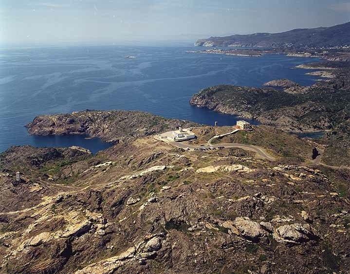 El faro del cabo de Creus está a 6 kilómetros de Cadaqués