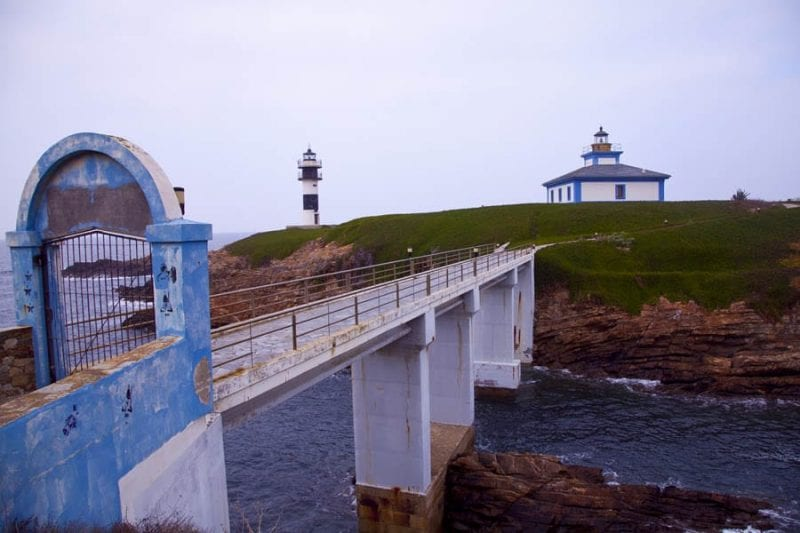 El faro de Isla Pancha depende de la Autoridad Portuaria de Ferrol
