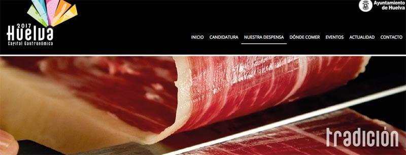 Huelva es famosa por sus productos con Denominación de Origen como el jamón