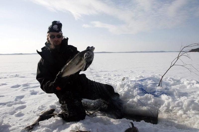 Jussi, el pescador finlandés