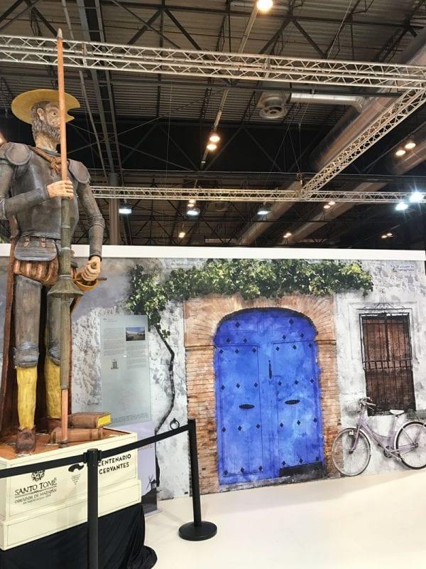 El Quijote, gran protagonista en el stand de Castilla la Mancha