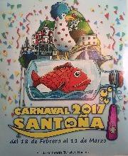 Cartel del carnaval de Santoña 2017