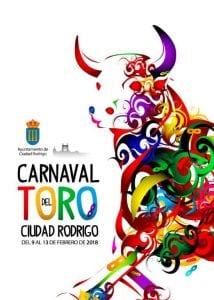 Cartel del Carnaval del Toro de Ciudad Rodrigo 2018