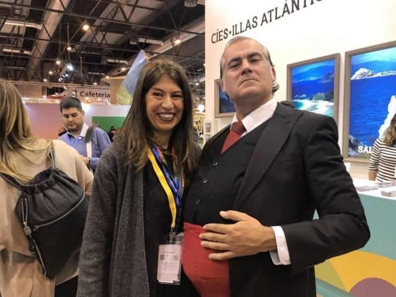 Nani Arenas y Suso Martínez en Fitur 2018