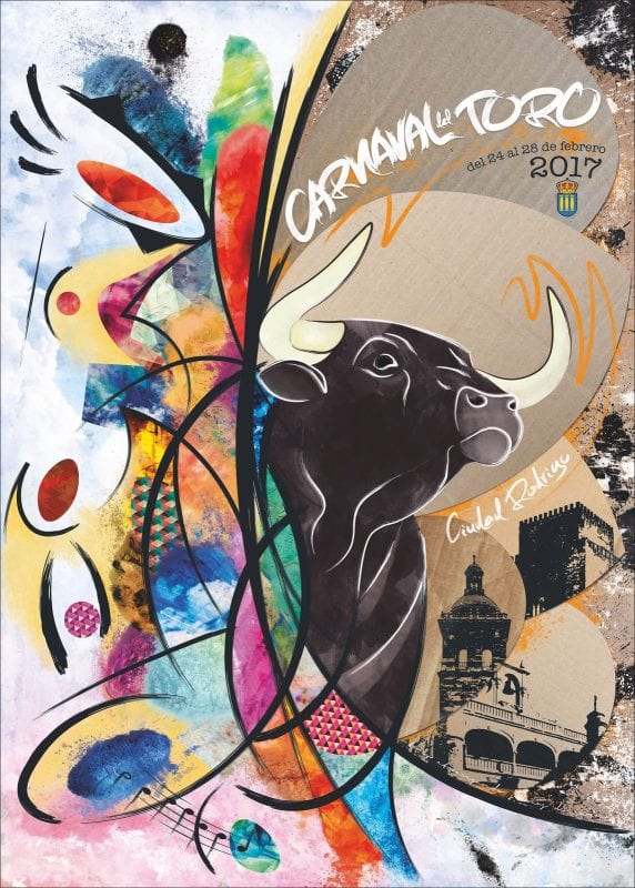 Cartel del carnaval del Toro, 2017