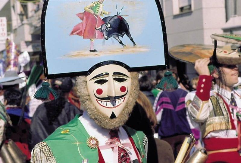 """Los llamados """"cigarróns"""" son los protagonistas del carnaval de Verín"""