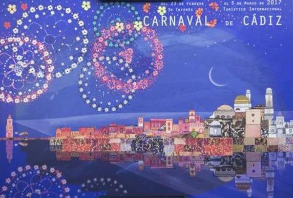 Cartel Carnaval de Cádiz 2017