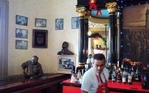 Hemingway, cliente asiduo del Floridita
