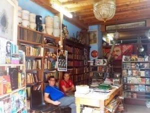 Librería en la calle Obispo