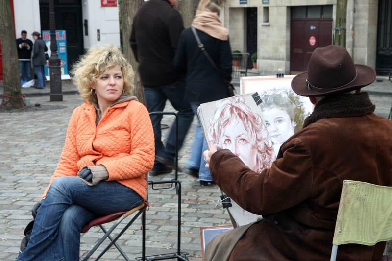 En el barrio de Montmatre se respira arte