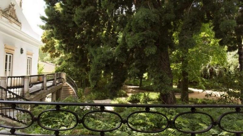 Jardín de la Quinta das Lágrimas