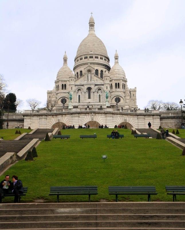 Sacre Coeur, en París