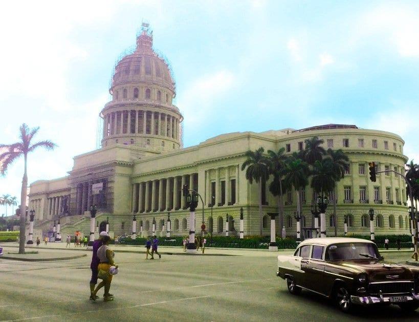 El Capitolio da nombre a la plaza