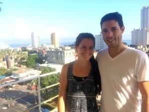 Mis anfitriones en La Habana