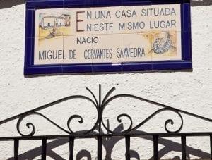 Casa natal de Cervantes en Alcazar de San Juan