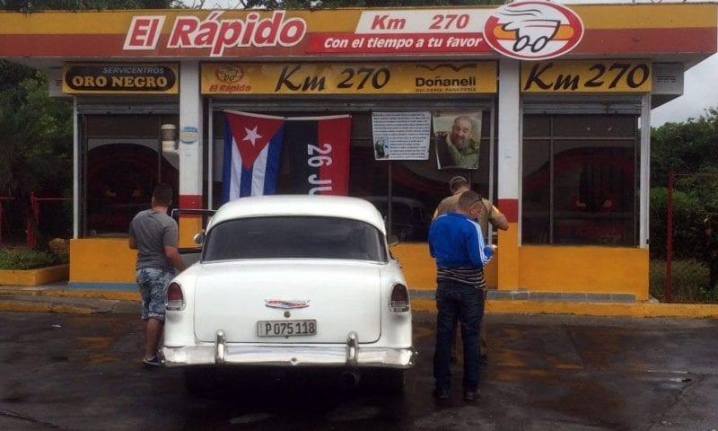 """Gasolina """"El Rápido"""""""