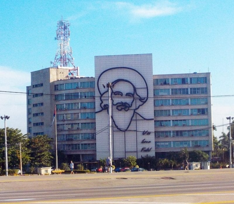 Rostro de Camilo Cienfuegos