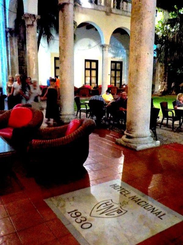 Interior hotel Nacional La Habana