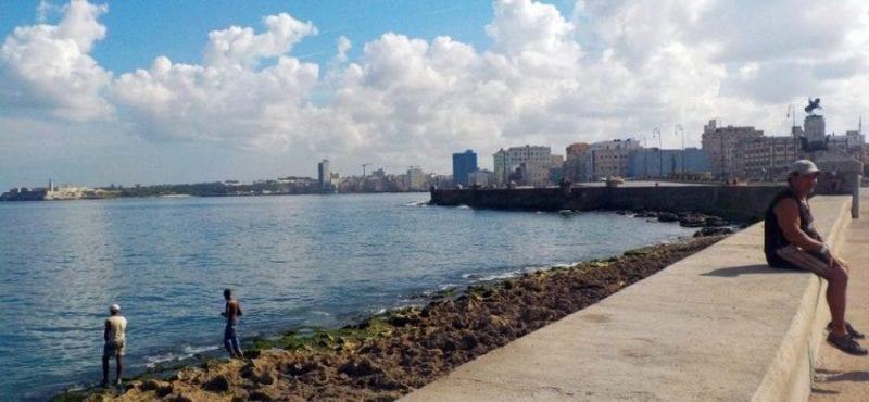Otro ángulo del Malecón
