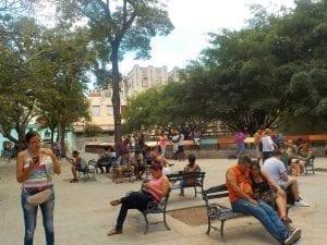 Punto wifi en La habana