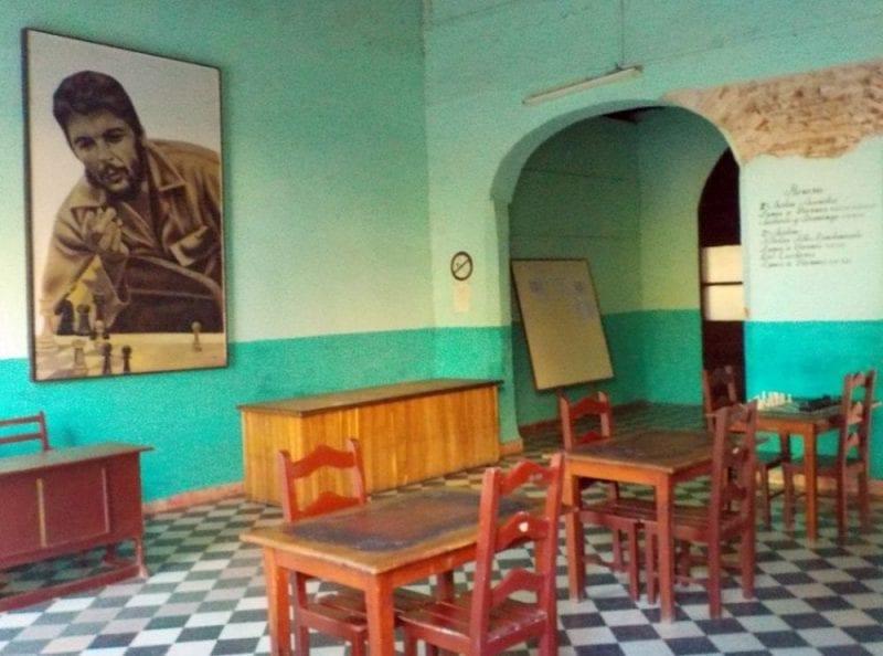 El retraro del Che, onmipresente en toda la isla