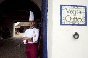 Pedro encargado de la Venta del Quijote puerto lapice