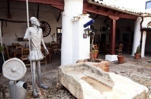Escultura de Don quijote venta Puerto Lápice