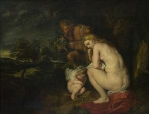 La Venus Frígida, en el museo de Bellas Artes de Amberes