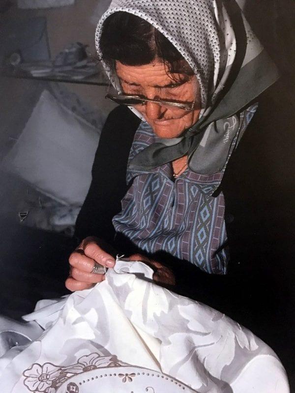 El bordado, un trabajo realizado tradicionalmente por mujeres