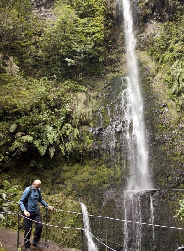 Madeira es la isla de las cascadas